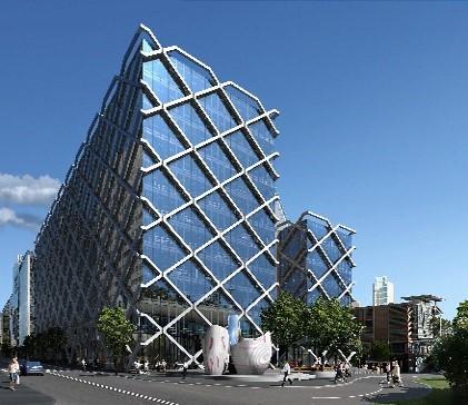 One shelley street king street wharf sydney australia for Modern bank building design